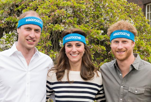 The new website is part of the Heads Together Initiative, launched by the Duke and Duchess of Cambridge and Prince Harry. (Photo: Getty)