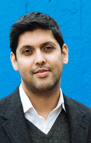 Abir Mukherjee secured the Sapere Books historical dagger (Crime Writers' Association/PA)