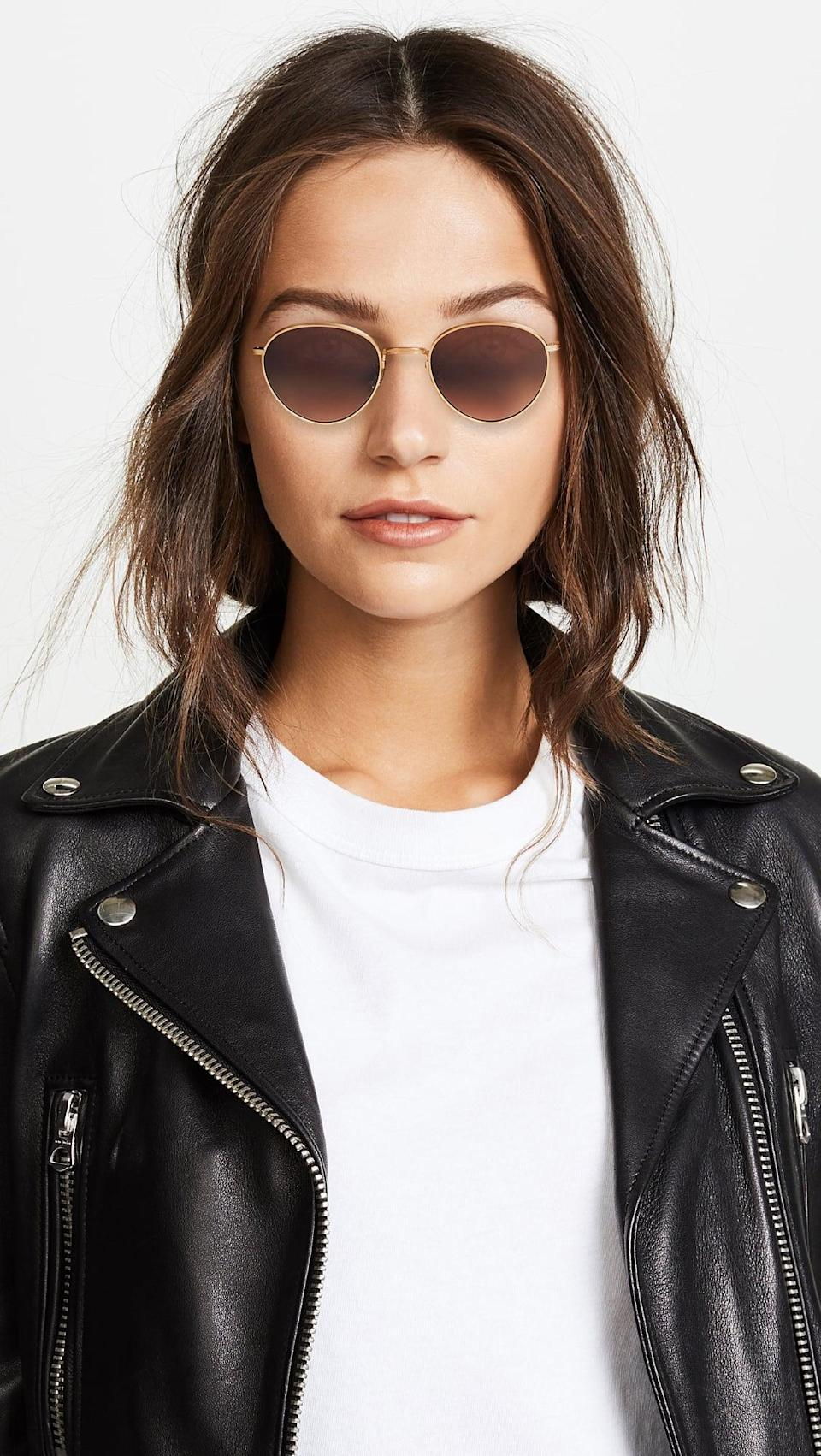 <p>These <span>Oliver Peoples x The Row Brownstone Sunglasses</span> ($495) are our dream pair.</p>