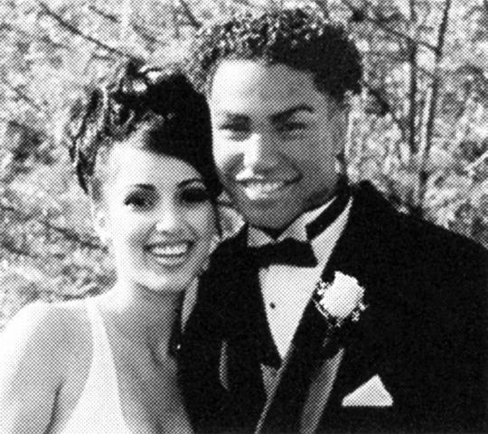 <p>Before anyone was keeping up with Kim Kardashian, she was a teenager attending the 1998 prom at the Marymount School in L.A. While she wasn't famous yet, her date and reported boyfriend at the time, T.J. Jackson, was something of a celebrity: Yep, he was a part of that Jackson family, the son of Michael's brother Tito and, along with his brothers, a member of the music group 3T. (Photo: Seth Poppel/Yearbook Library) </p>