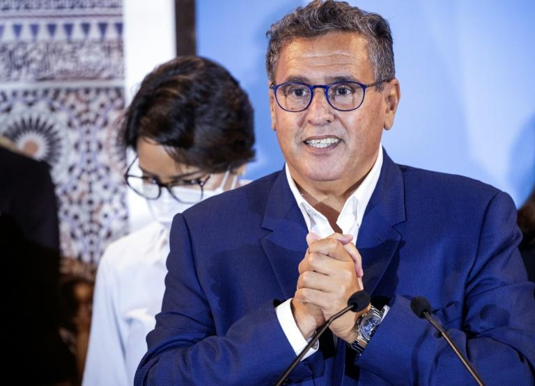 Moroccan businessman Aziz Akhannouch has been tasked with forming a new government after his party won the elections (AFP/FADEL SENNA)