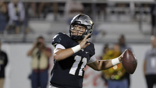 No. 11 UCF still smarting over disappointing loss to Tulsa