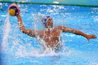"""<p>In a bid to prevent any disadvantages, water polo athletes are forbidden from having """"grease, oil, or any similar substance on the body"""" <a href=""""https://resources.fina.org/fina/document/2021/01/12/6ba9218a-3a81-4c39-900b-3d8dad9d09bf/_july-2020-fina-water-polo-referees-manual-2019-2021-clean.pdf"""" rel=""""nofollow noopener"""" target=""""_blank"""" data-ylk=""""slk:during competition"""" class=""""link rapid-noclick-resp"""">during competition</a>.</p>"""
