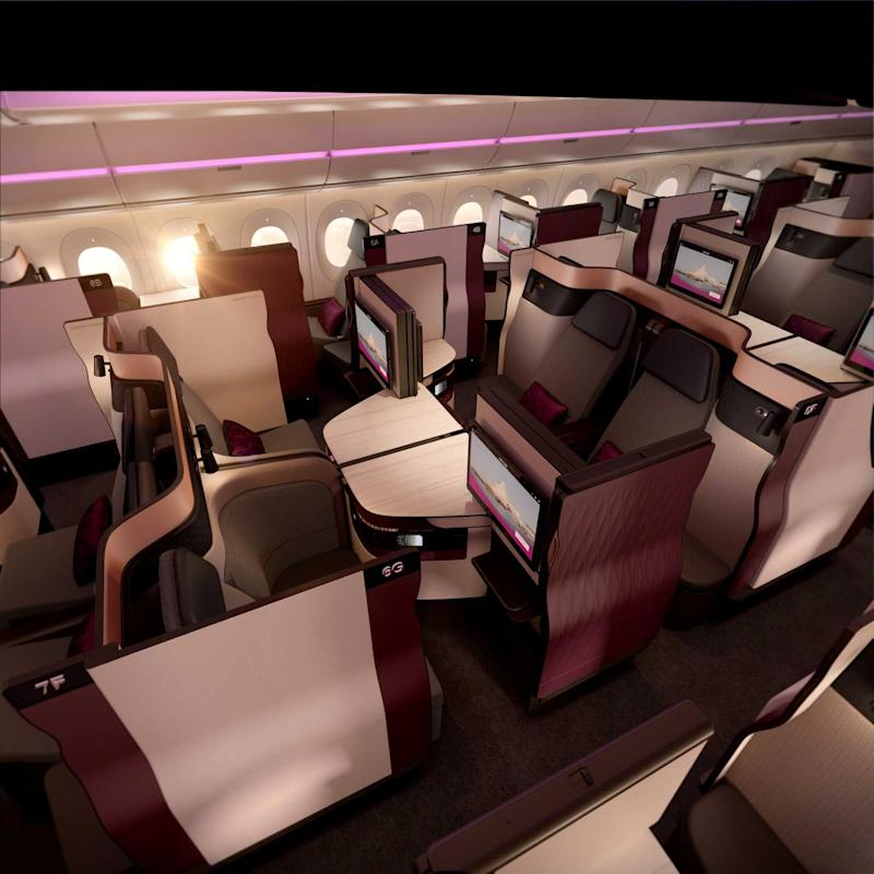 Select centre-row seats can open up to form a four-seater unit that can double up as a collaborative workspace or just a private family suite