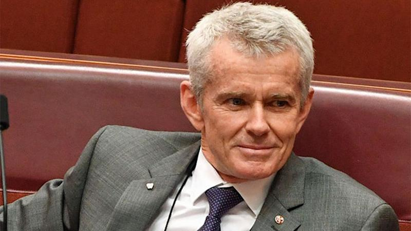 e Nation senator Malcolm Roberts said that Australia's sexual harassment laws go too far. Source: AAP