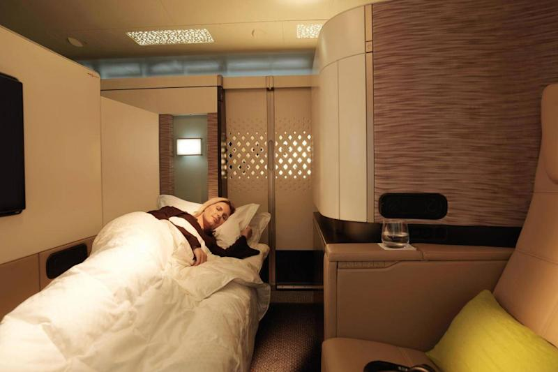 The apartments offer supreme privacy (Etihad)