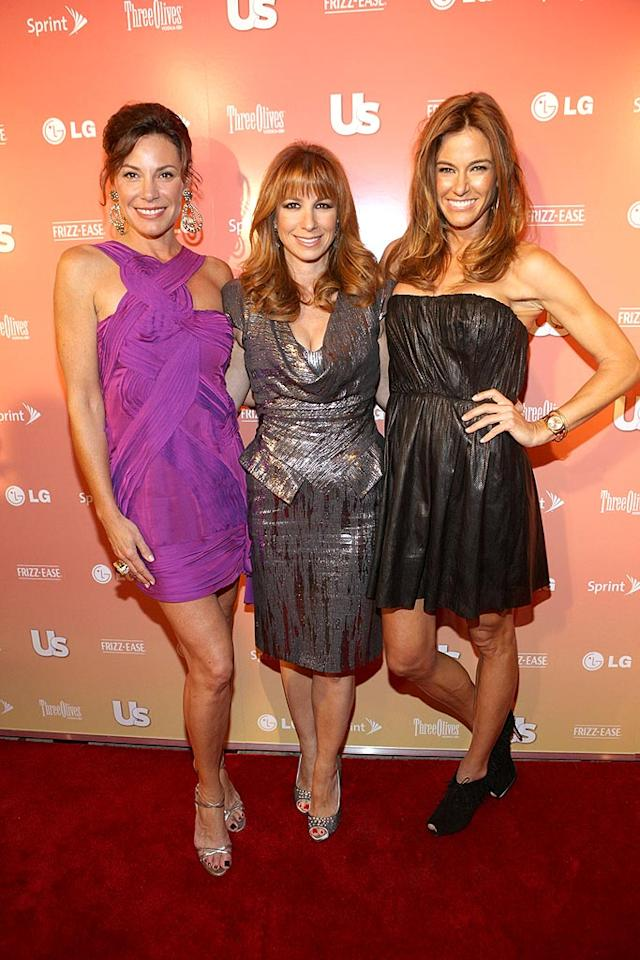 """What Big Apple bash would be complete without appearances by """"The Real Housewives of New York"""": Countess LuAnn de Lesseps, Jill Zarin, and Kelly Bensimon. Bennett Raglin/<a href=""""http://www.wireimage.com"""" target=""""new"""">WireImage.com</a> - September 16, 2009"""