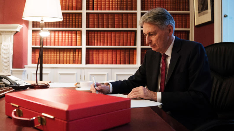 Philip Hammond is facing ridicule over his latest Budget - even before he's delivered it - as it emerged his 'Fit For The Future' slogan is a widely-used synonym for austerity and cuts programmes.
