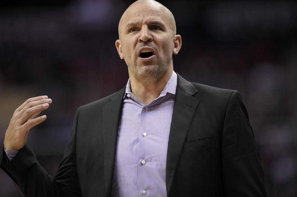 Jason Kidd led the Bucks to a pair of playoff appearances in this three-plus seasons in Milwaukee. (AP)