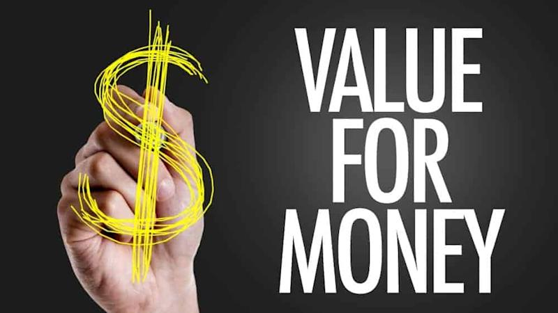 Value for money