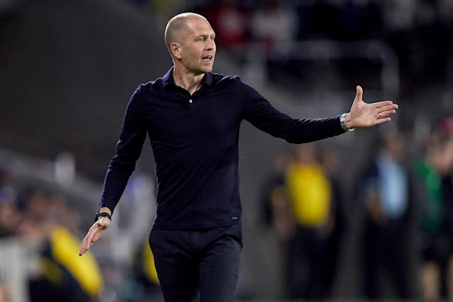 This summer's Gold Cup will mark the first competitive matches for the United States under new coach Gregg Berhalter. (Robin Alam/Getty)