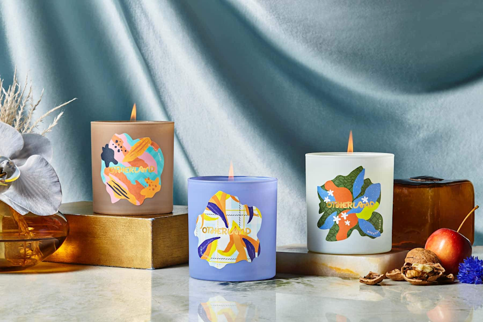 """<h3>Otherland Candle</h3><br>Otherland creates candles so pretty, you'll Google every craft project possible to find a way to put the empty glass tumblers to decor use once you've burned through the wick. The hand-poured candles feature unique scents blended into its toxin-free coconut and soy wax. <br><br><strong>Otherland</strong> Manor House Weekend Candle, $, available at <a href=""""https://go.skimresources.com/?id=30283X879131&url=https%3A%2F%2Fwww.otherland.com%2Fcollections%2Fmanor-house-weekend-collection%2Fproducts%2Fthe-manor-house-collection%3Fvariant%3D32241593352301"""" rel=""""nofollow noopener"""" target=""""_blank"""" data-ylk=""""slk:Otherland"""" class=""""link rapid-noclick-resp"""">Otherland</a>"""