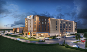 An expanded gaming floor is scheduled to open in late 2022 with the hotel targeted to open in spring 2023.