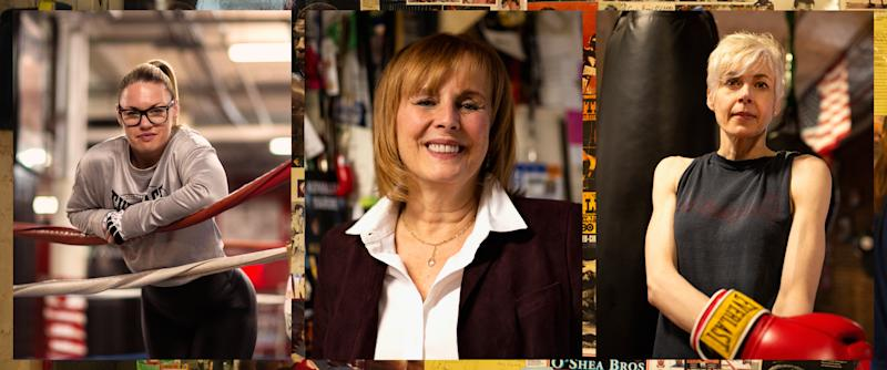 Heather Hardy, Kathy Duva and Kris Herndon are the leading ladies in Everlast's First Is Strong campaign.