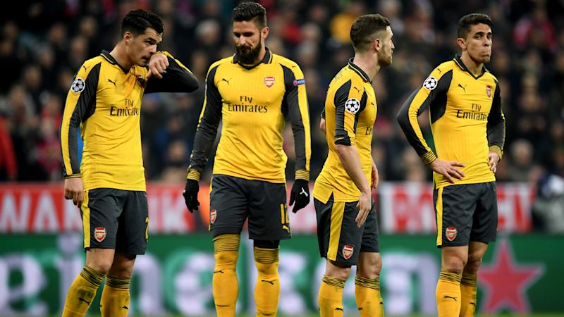 Arsenal set unwanted Champions League record