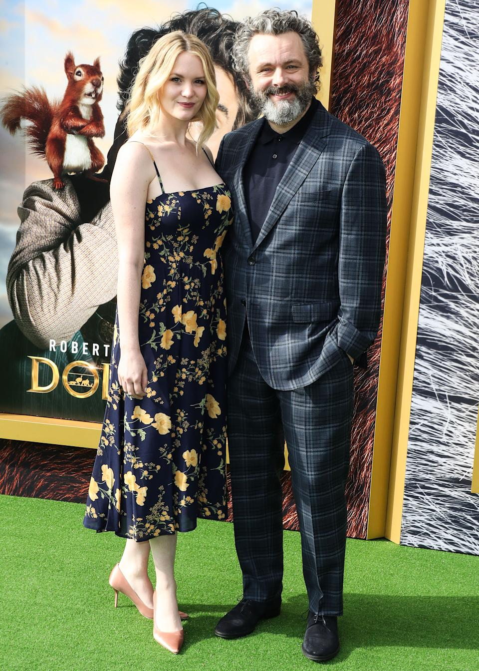 WESTWOOD, LOS ANGELES, CALIFORNIA, USA - JANUARY 11: Anna Lundberg and Michael Sheen arrive at the Los Angeles Premiere Of Universal Pictures' 'Dolittle' held at the Regency Village Theatre on January 11, 2020 in Westwood, Los Angeles, California, United States. (Photo by Xavier Collin/Image Press Agency/Sipa USA)