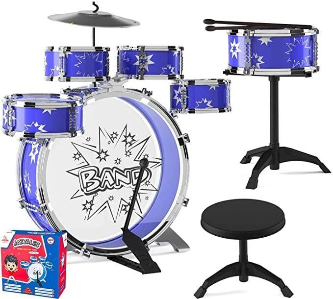 <p>The <span>EMAAS Kids Jazz Drum Set</span> ($37) is a 4-year-old musician's dream come true.</p>
