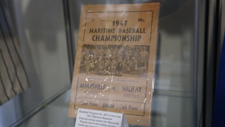 'Quite an accomplishment': Fredericton's baseball history on display