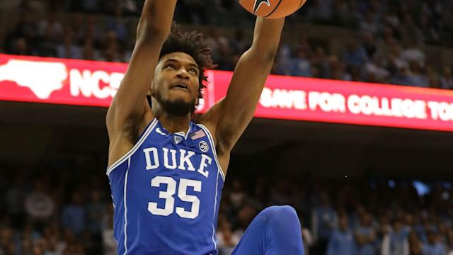Marvin Bagley is in the discussion to go No. 1 overall to the Suns, though he is almost certain to go in the top five.