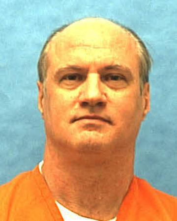 Death row inmate Cary Michael Lambrix is seen in this undated Florida Department of Corrections photo.  Courtesy Florida Department of Corrections/Handout via REUTERS