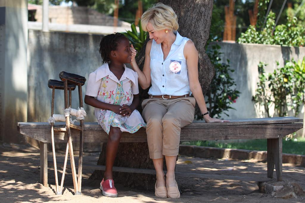 "While recreating Diana's trip to Angola and the rest of her life story, Naomi Watts has donned a prosthetic nose and four wigs. The Aussie actress also met with a dialogue coach for six weeks to get   Diana's accent right, according to <a target=""_blank"" href=""http://www.vanityfair.com/online/oscars/2012/08/naomi-watts-princess-diana-biopic"">Vanity Fair</a>. (10/17/2012)"
