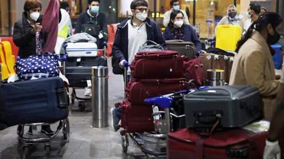 Delhi Airport: Chaos over revised COVID-19 rules for UK returnees