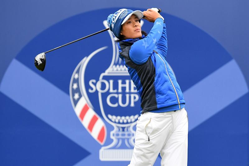 Boutier earned more points than any Solheim Cup rookie in the event's history.
