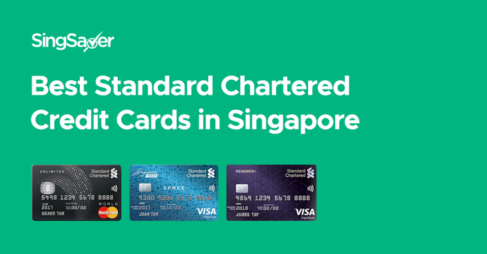best standard chartered credit cards in singapore 2020