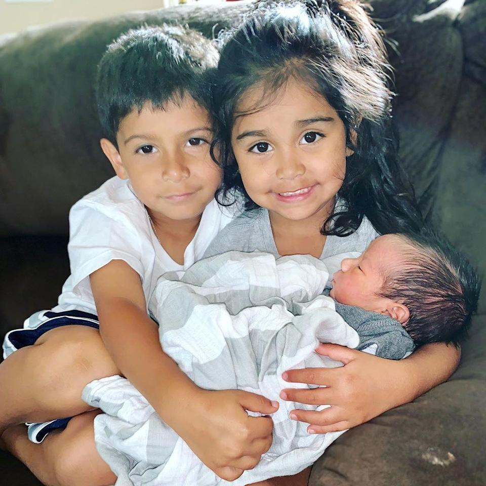 """<p>Nicole """"Snooki"""" Polizzi is living her cutest life. The """"Jersey Shore"""" star shared a series of photos of her family on Saturday and each one is more insanely adorable than the next. The first photo, which showed her two oldest children cuddling her newborn, was captioned, """"MY SQUAD🤛🏽So proud of Lorenzo & Giovanna for killing […]</p> <p>The post <a href=""""https://theblast.com/snooki-newborn-family-photos/"""" rel=""""nofollow noopener"""" target=""""_blank"""" data-ylk=""""slk:Nicole 'Snooki' Polizzi Shows Off Her Adorable Fam With Newborn Son"""" class=""""link rapid-noclick-resp"""">Nicole 'Snooki' Polizzi Shows Off Her Adorable Fam With Newborn Son</a> appeared first on <a href=""""https://theblast.com"""" rel=""""nofollow noopener"""" target=""""_blank"""" data-ylk=""""slk:The Blast"""" class=""""link rapid-noclick-resp"""">The Blast</a>.</p>"""
