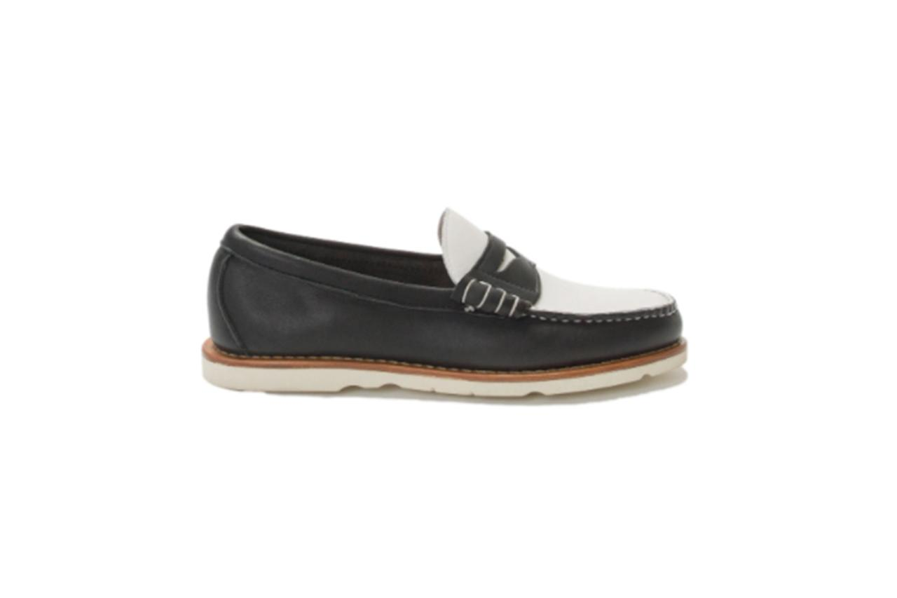"""$350, Freemans Sporting Club. <a href=""""https://freemanssportingclub.com/products/fsc-x-rancourt-beefroll-penny-loafer"""">Get it now!</a>"""
