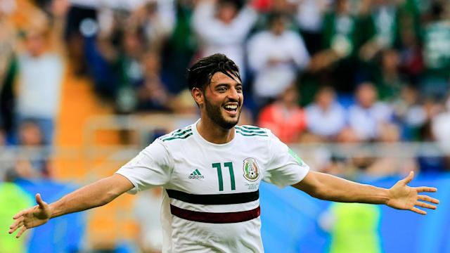 After knocking off Germany with a 1-0 win in Matchday 1, Mexico continued its perfect start with a 2-1 win over South Korea on Saturday.