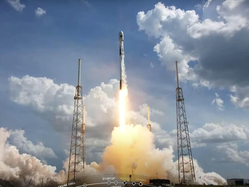 SpaceX plans to launch 57 Starlink satellites into orbit aboard its Falcon 9 rocket: SpaceX