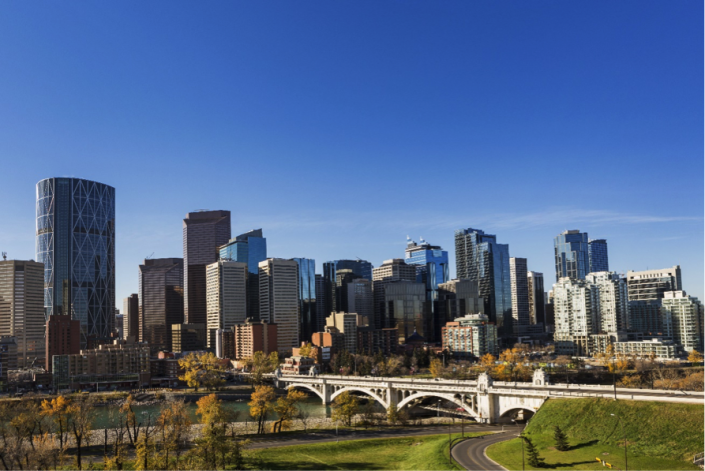 <p>Canada's third largest city was one of three entries for the country. It scored 96.5 points including perfect scores for in stability, healthcare and education. (Rex features) </p>