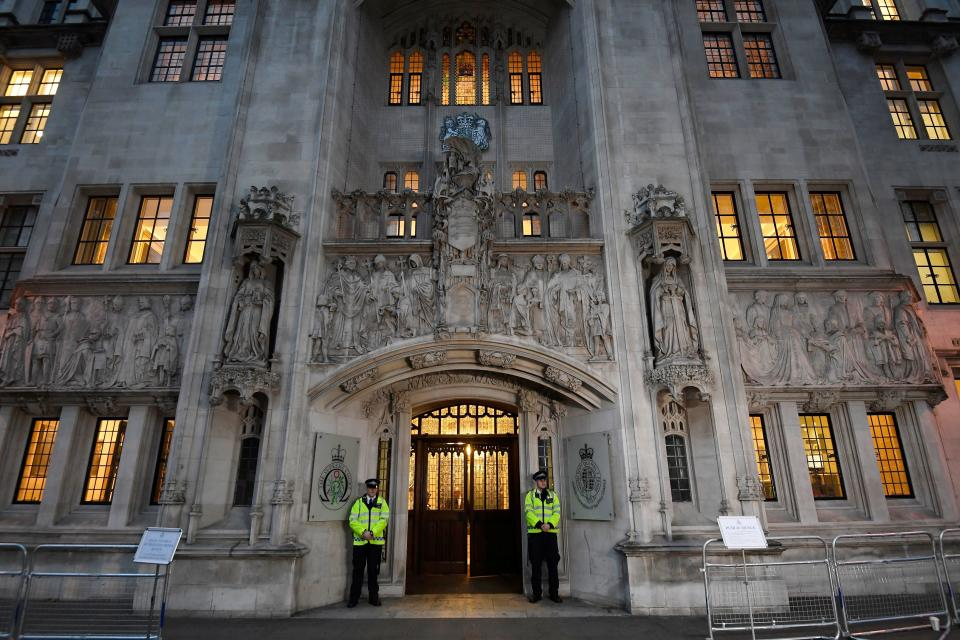 <p>Senior City figures warned that the ruling would have a huge impact on the insurance industry (PA)</p> (REUTERS)