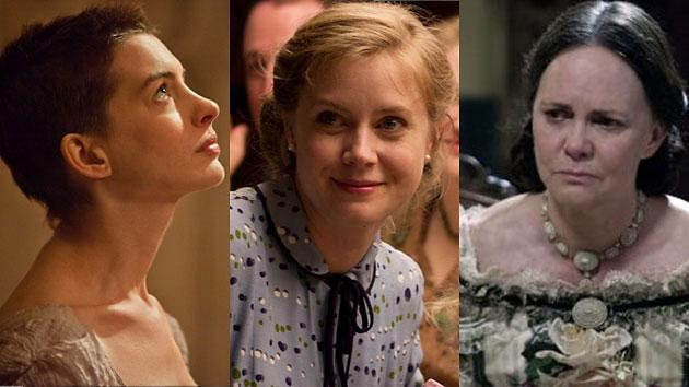 Anne Hathaway, Amy Adams and Sally Field