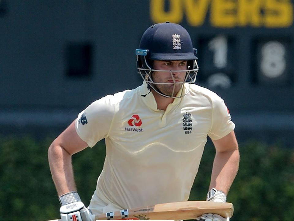 Dom Sibley scored a half-century in Galle (ECB)
