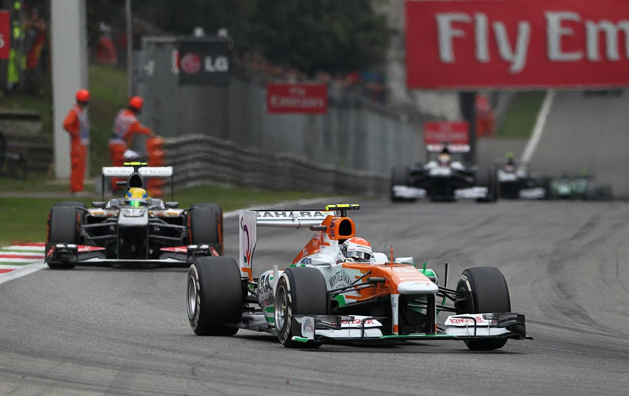 Force India's Paul di Resta during the Italian Grand Prix and the Autodromo Nazionale Monza, Monza, Italy.