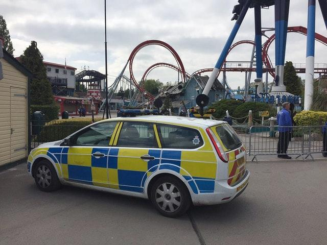 Drayton Manor Theme Park incident