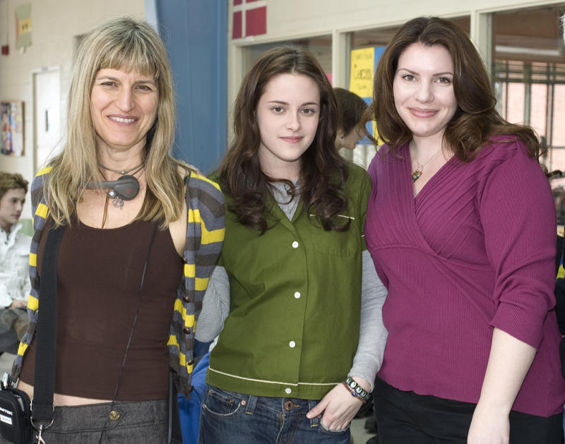 """Hardwicke and cast on the set of """"Twilight"""""""