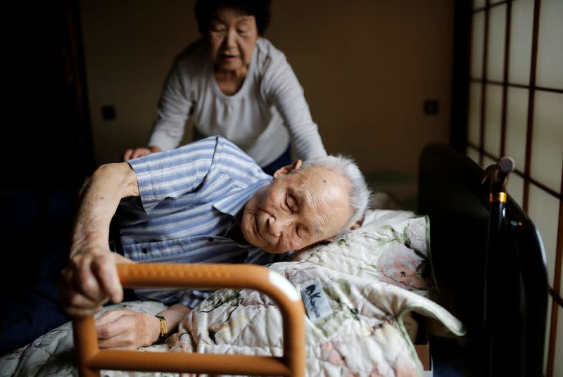Lee Hak-rae, last surviving Korean war criminal during World War II seen in Tokyo