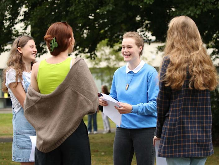 Students around the country will find out their A-level results on Thursday: PA