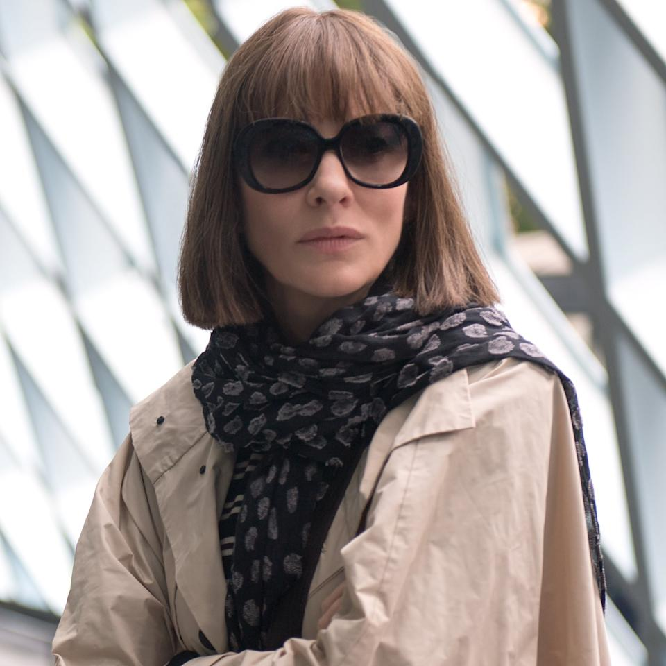 <ul> <li> <strong>What to wear:</strong> An incognito disguise will work well if you are dressing up as Bernadette from <strong>Where'd You Go, Bernadette</strong>. Wear large sunglasses with a light scarf and jacket, and complete your look with a chic bob. </li> </ul>