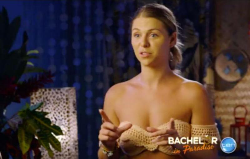 Tara reveals there's a love square. Source: Channel Ten