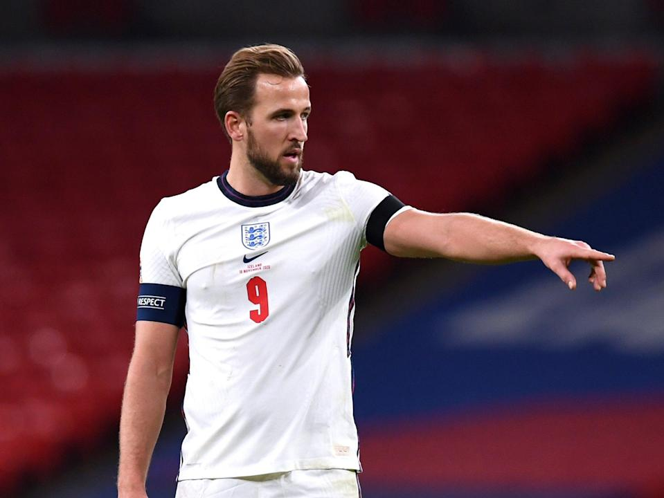 Harry Kane is captaining England into the Euros (PA)