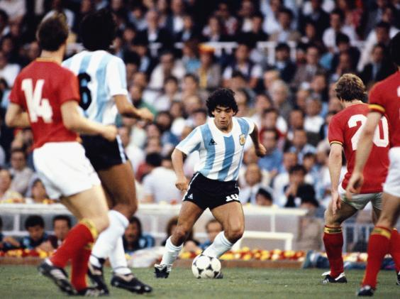 Diego Maradona will forever be one of the game's greats (Getty)