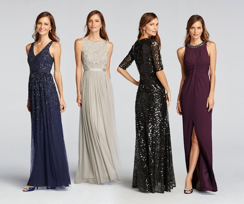 The Four Mother Of Bride Styles For Wonder By Jenny Packham At David S Bridal Photo Courtesy