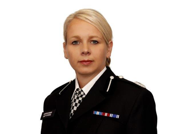 Taser lead for UK policing, Lucy D'Orsi