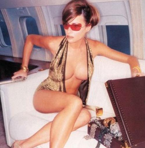 <p>A glimpse at Air Force One's future. Note to flight attendants: Make sure there's Cristal — on ice — at all times. <i>(Photo: British GQ)</i></p>