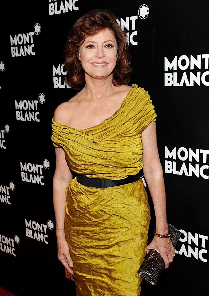 "October 4: Susan Sarandon turns 64 Stephen Lovekin/<a href=""http://www.gettyimages.com/"" target=""new"">GettyImages.com</a> - September 12, 2010"