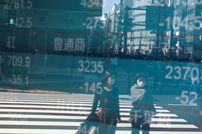Asian shares gain on signs lockdowns could ease